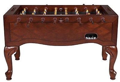 Berner Billiards Furniture Style Foosball Table; Walnut
