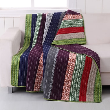 Greenland Home Fashions Marley Cotton Throw