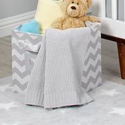 Little Love by Nojo Separates Blanket; Gray