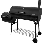 CharBroil American Gourmet Deluxe Offset Charcoal Smoker & Grill