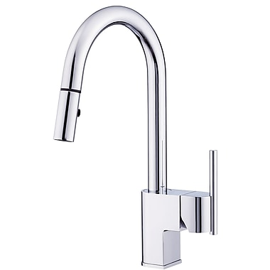 Danze Como Single Handle Deck Mounted Kitchen Faucet; Chrome