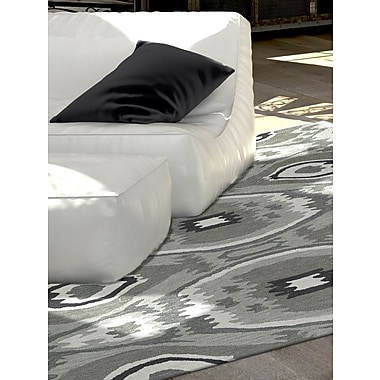 Dalyn Rug Co. Aloft Dalyn Silver Area Rug; 3'6'' x 5'6''