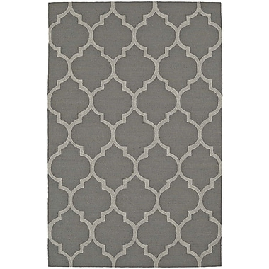 Dalyn Rug Co. Cabana Hand-Tufted Pewter Indoor/Outdoor Area Rug; Rectangle 3'6'' x 5'6''