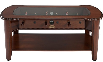 Berner Billiards 2-in-1 Foosball Coffee Table; Antique