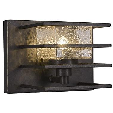 Toltec Lighting Sky Loft 1-Light Wall Light; Dark Granite