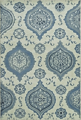 Dalyn Rug Co. Beckham Dalyn Blue/Ivory Area Rug; 8'2'' X 10'
