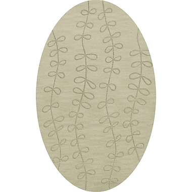 Dalyn Rug Co. Bella Gray Area Rug; Oval 3' x 5'
