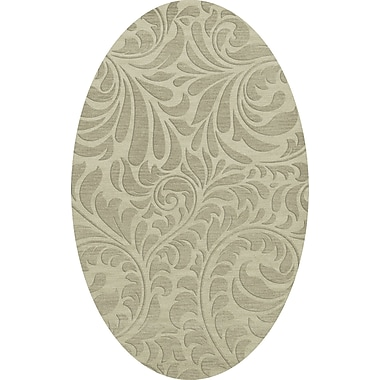 Dalyn Rug Co. Bella Gray Area Rug; Oval 6' x 9'