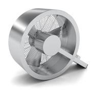 Stadler Form Q Floor Fan; Metal