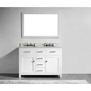 Innoci San Clemente 48'' Double Vanity Set; White