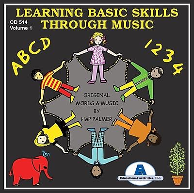 Hap Palmer CDs, Learning Basic Skills Through Music, Volume 1
