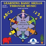 Educational Activities Learning Basic Skills Through Music - vol. 3 Health and Safety CD