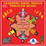 Educational Activities Learning Basic Skills Through Music CD, Volume 2