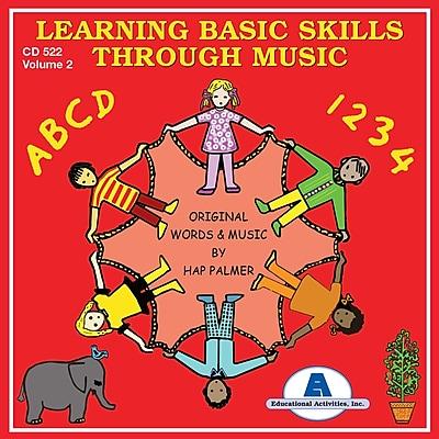 Educational Activities Learning Basic Skills Through Music CD, Volume 2