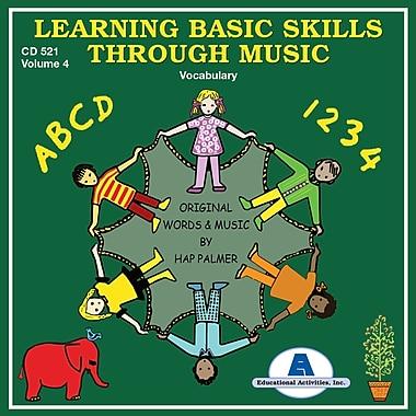 Learning Basic Skills Through Music, CD, Building Vocabulary