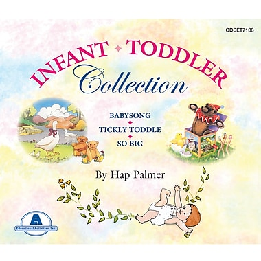 Educational Activities, Inc., Hap Palmer's Infant/Toddler Collection, (CDSET7138)