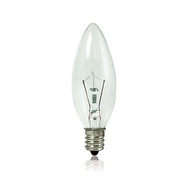 Bulbrite KRY B8 10W Dimmable Clear 2700K Soft White 10PK (460010)