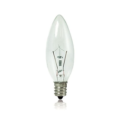Bulbrite KRY B8 10W Dimmable Clear 2700K Soft White 10PK (460010)