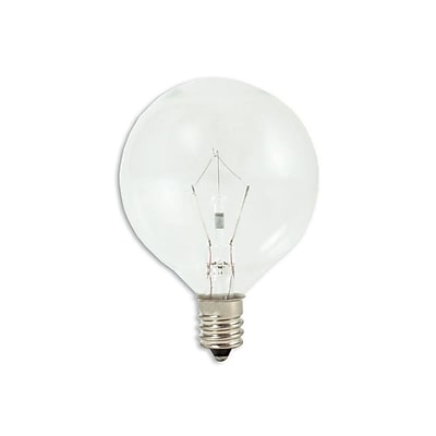 Bulbrite KRY G16 1/2 15W Dimmable Clear 2700K Soft White 10PK (461215)