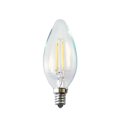 Bulbrite LED B11 2W Dimmable 2700K Warm White 280D 2PK (776555)