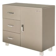 Phoenix Group AG Miami 1 Door and 3 Drawer Cabinet; Taupe