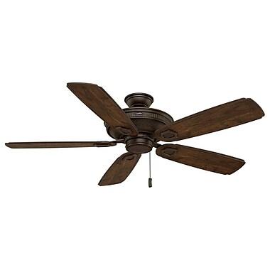 Casablanca Fan 60'' Heritage 5-Blade Fan; Brushed Cocoa