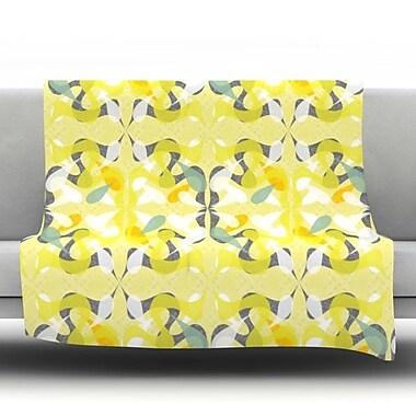 KESS InHouse Spring Flourish Throw Blanket; 60'' L x 50'' W