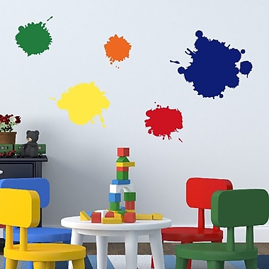 Davis Vinyl Designs Paint Slotches Wall Decal
