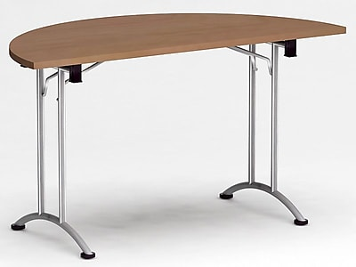 Reunion Half Round 29''H x 53''W x 27''L Conference Table