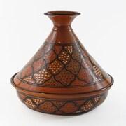 Le Souk Ceramique 12'' Honey Design Cookable Tagine