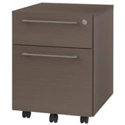 OfisLite 2-Drawer Mobile Filling Cabinet; Espresso
