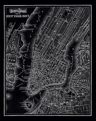 Stupell Industries New York City 1985 Vintage Graphic Art on Canvas; 20'' H x 16'' W x 1.5'' D
