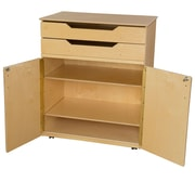 Wood Designs 46''H x 36''W x 24''D Mobile Cabinet (990734)