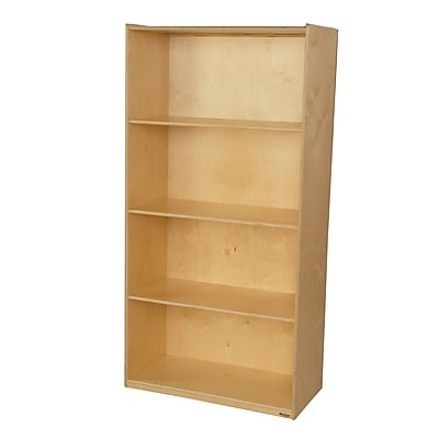 Wood Designs 72''H x 36''W x 18''D Multi-Purpose Bookcase (990811)