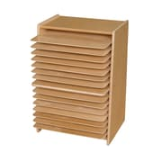 Contender™ 27.25''H x 20''W x 15''D Mobile Drying and Storage Rack (C990647F)