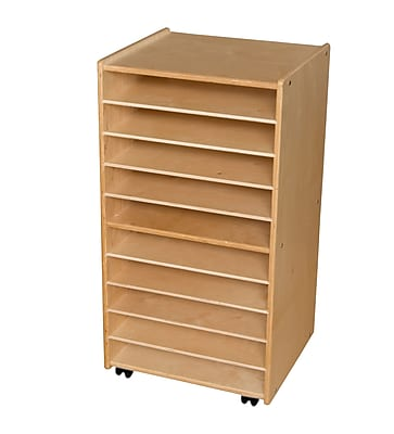 Contender™ 38''H x 20''W x 15''D Mobile Paper and Puzzle Storage Center (C990652)
