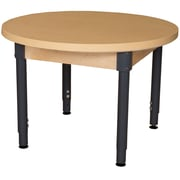 Wood Designs HPL Tables 36'' Round Table 18''-29''H Adjustable Legs (HPL36RNDA1829)