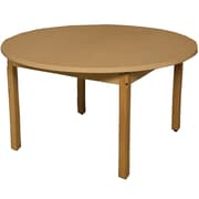 Wood Designs HPL Tables 48'' Round Table 29''H Hardwood Legs (HPL48RND29)