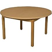 Wood Designs HPL Tables 48'' Round Table 29''H Hardwood Legs (HPL48RND29)