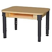 Wood Designs HPL Desks 18''D x 24''W Rectangle Desk 12''- 17'' H Adjustable Legs (HPL1824DSKA1217)