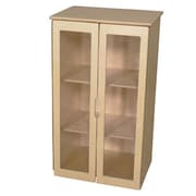 Wood Designs 36''H x 20.5''W x 15''D My Cottage Hutch in Natural (20785)