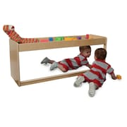 Wood Designs 19''H x 48''W x 15''D Infant Pull-Up Storage (40400)