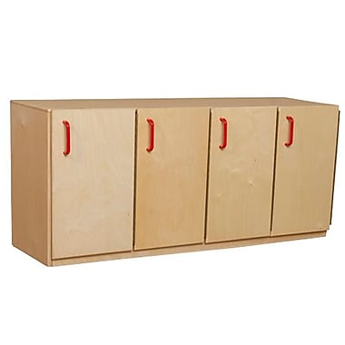 Wood Designs 20''H x 49''W x 15''D Stacking Lockers with Doors (46310)