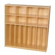Wood Designs 49''H x 48''W x 15''D Trim Line Locker (50848)