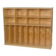 Wood Designs 49''H x 60''W x 15''D Trim Line Locker (50860)