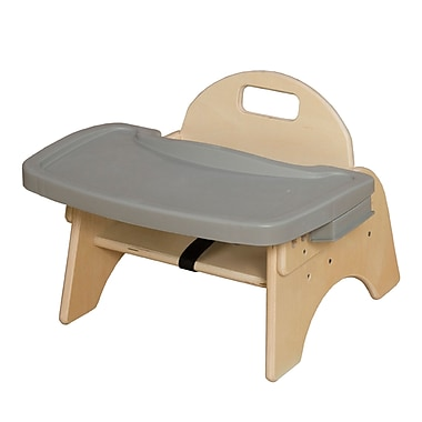 Wood Designs 5'' Seat Height Woodie with Adjustable Tray (80500TS)