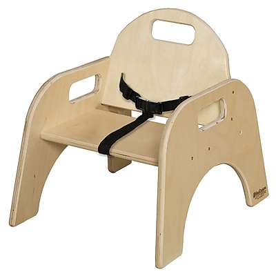 Wood Designs 7'' Seat Height Woodie with Belt Strap (80700BT)