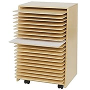 """Wood Designs 30""""H x 20""""W x 15""""D Mobile Drying and Storage (99332)"""