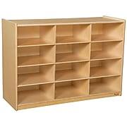 """Wood Designs 29.06""""H x 42""""W x 15""""D Cubby Shelves (990315)"""