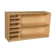 Wood Designs 30''H x 48''W x 15''D Mobile Shelf Storage (990331)